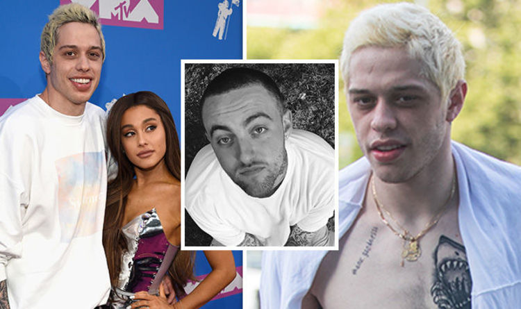 Mac Miller Dead Pete Davidson Unveils New Ariana Grande Tattoo As She Pays Tribute To Ex