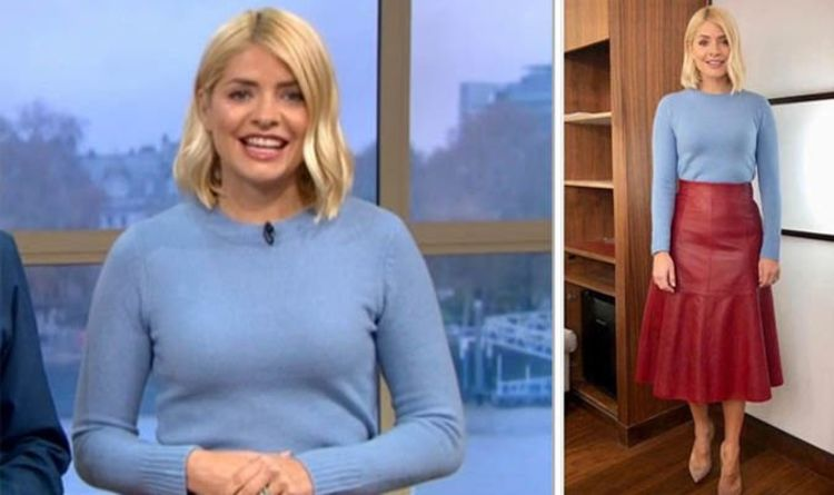fdfbaa0449 Holly Willoughby This Morning outfit branded  awful  by fans who slam her on  Instagram