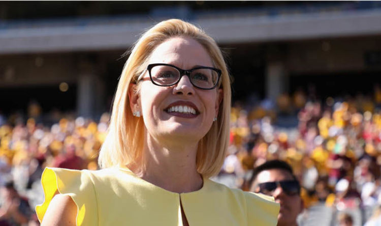 Image result for Democrat Kyrsten Sinema Slated For Victory As Vote Count Heads In Her Direction