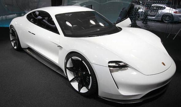 Porsche electric supercar