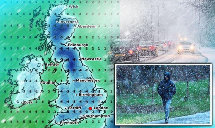 Uk Weather Forecast Snow Update Temperatures Drop In Uk Wide Freeze