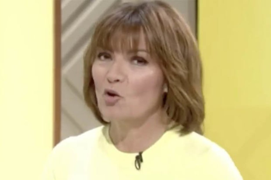 0992bf9a87f7 ITV Lorraine guest flashes knickers in transparent trousers - Daily Star