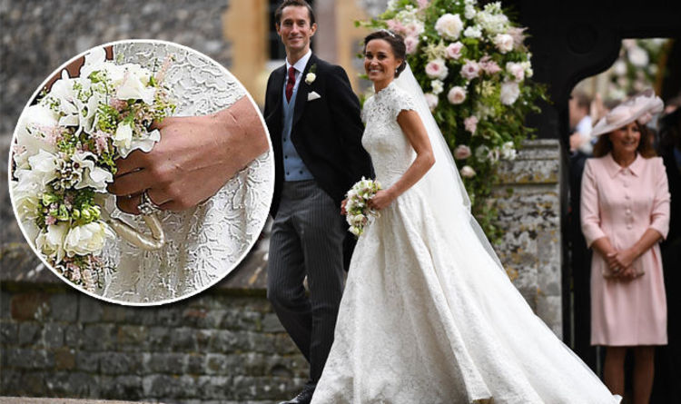 Pippa Middleton Wedding Ring Is Nearly The Same As Sister Kate S Gold Band Express Co Uk