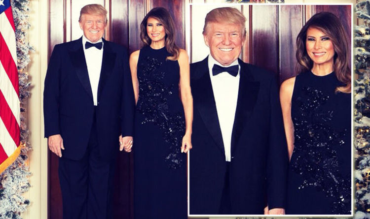 Donald Trump And Melania S Official Christmas Card Reveals This