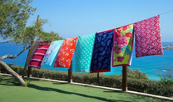 Look Forward To A Warm Dry Summer With These Bright And Breezy Towel Designs
