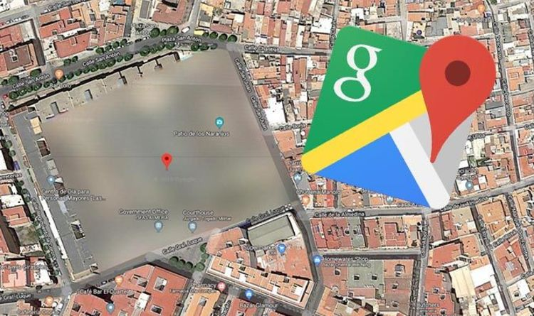 Google Maps Spain Why Has This Mysterious Location In Almeria Been