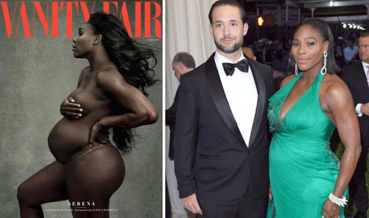 Serena williams boob size