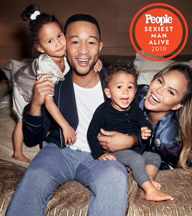 JOHN LEGEND AND CHRISSY TEIGEN OPEN UP ABOUT THEIR KIDS AND PARENTHOOD IN  GENERAL IN NEW INTERVIEW