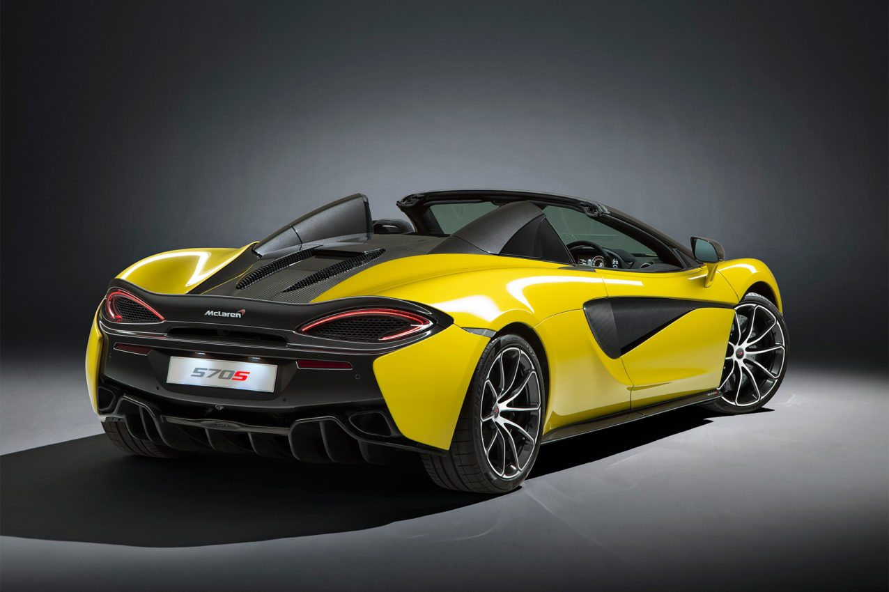 2018 mclaren 570s spider: price, specs, & review