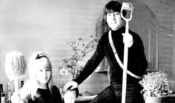 Image result for john and cynthia lennon divorce images