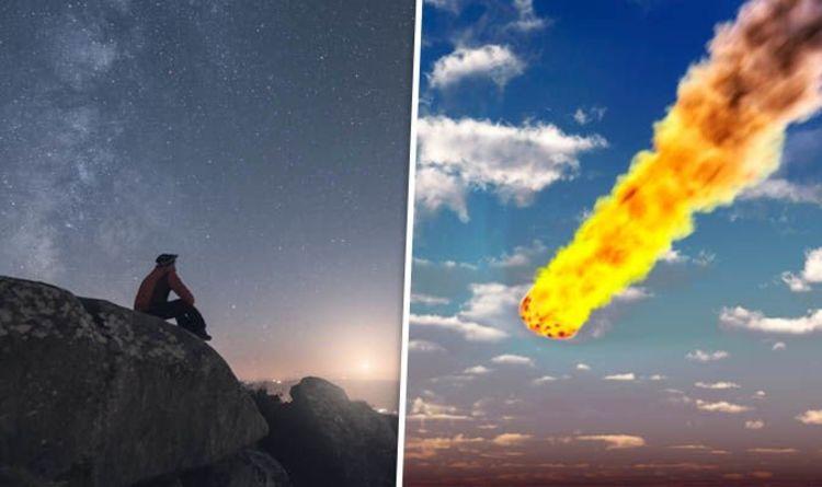 Meteor WARNING: Look up as FIREBALLS light up the night sky