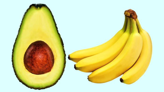 Food fight: banana v avocado   Times2   The Times