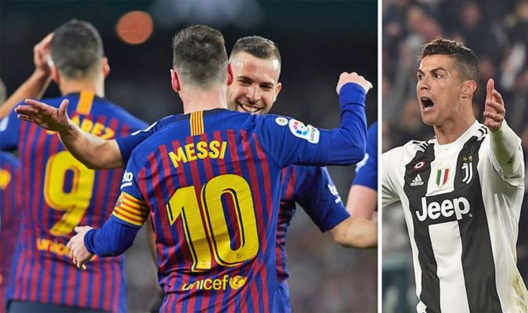 8b46c54b3f9 Lionel Messi fans adamant Barcelona star is BETTER than Cristiano Ronaldo  after hat-trick