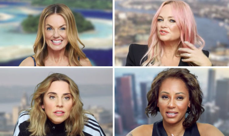 d0c12b30a637 Spice Girls ages  How old is Geri Halliwell