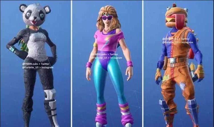 Fortnite Leaked Skins When Will Update 52 Leaked Outfits Be