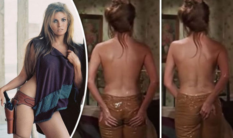 Raquel Welch Gropes Her Own Bottom In Sizzling Topless Scene From