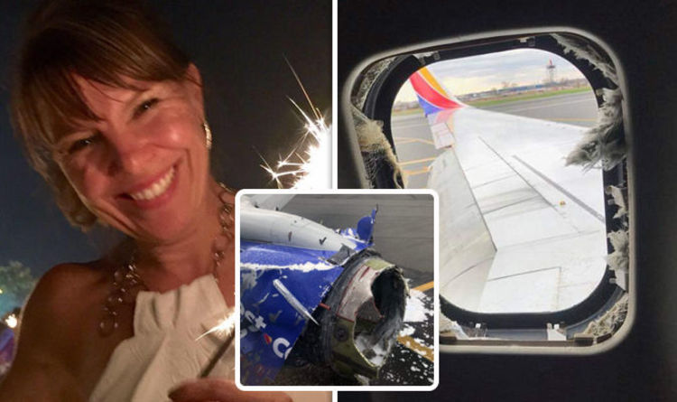 First pictures of woman sucked of out plane window after horror explosion