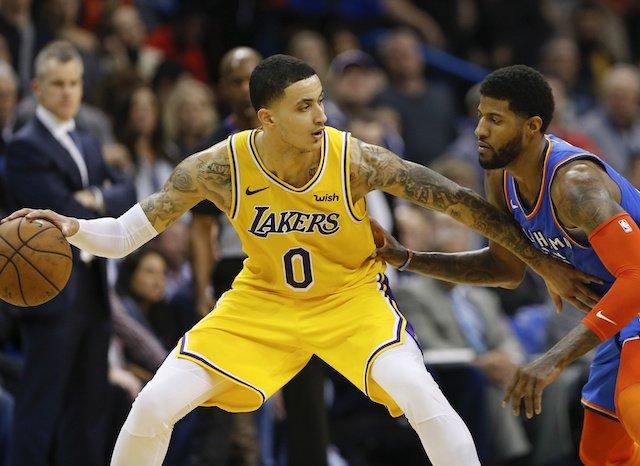 fb4e5c3191b Lakers News  Kyle Kuzma Still Trying To  Slow Down On Offense  For Third  NBA Season