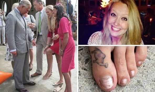 Royal Prince Charles Camilla Camel Toe Tattoo Dodgy Cornwall