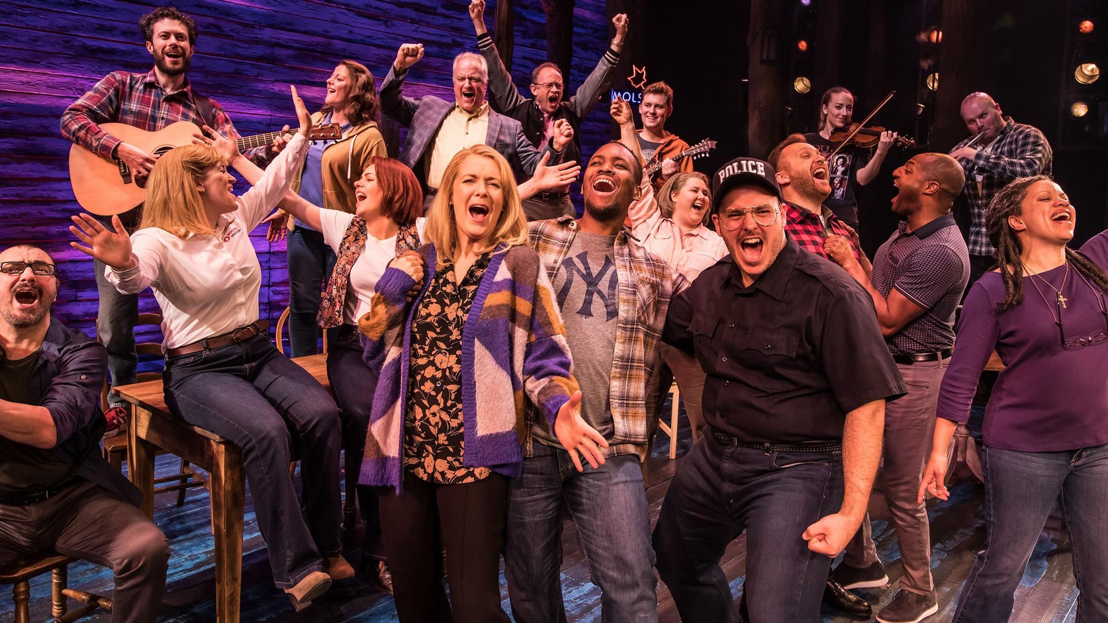 Image result for come from away