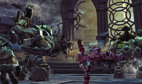Darksiders 2. Definitive edition. Xbox one. 1080. P. Gameplay part.