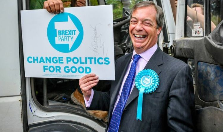 Farage Fury Brexit Party Condemns Electoral Commission For Snap Inspection Remainers