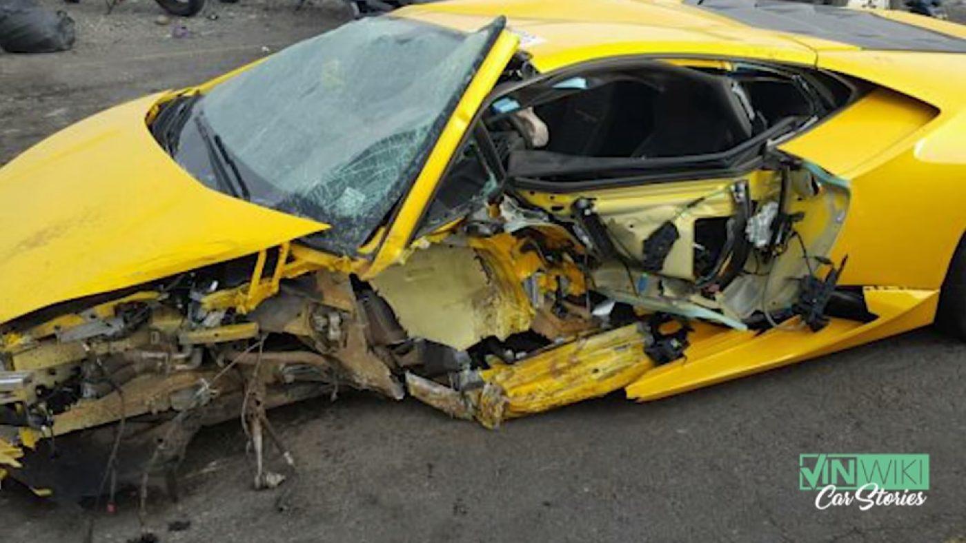 Story Of A Crashed Rental Lamborghini Huracan