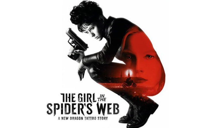 Image result for the girl in the spider's web poster