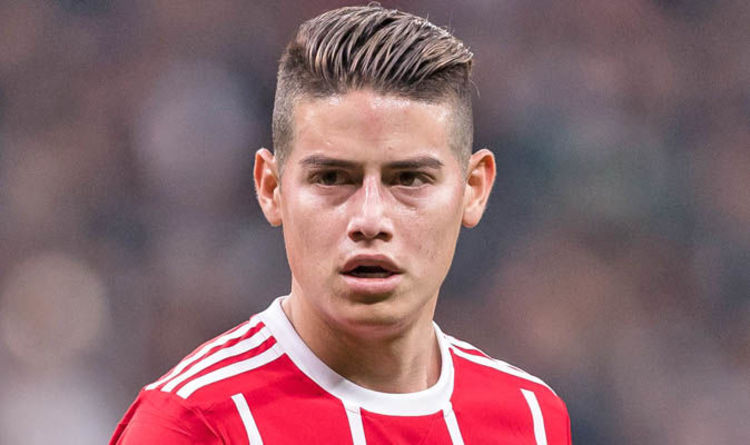 Real Madrid Transfer News James Rodriguez Wants Bayern Munich To Beat Real To Harry Kane Football Sport Express Co Uk