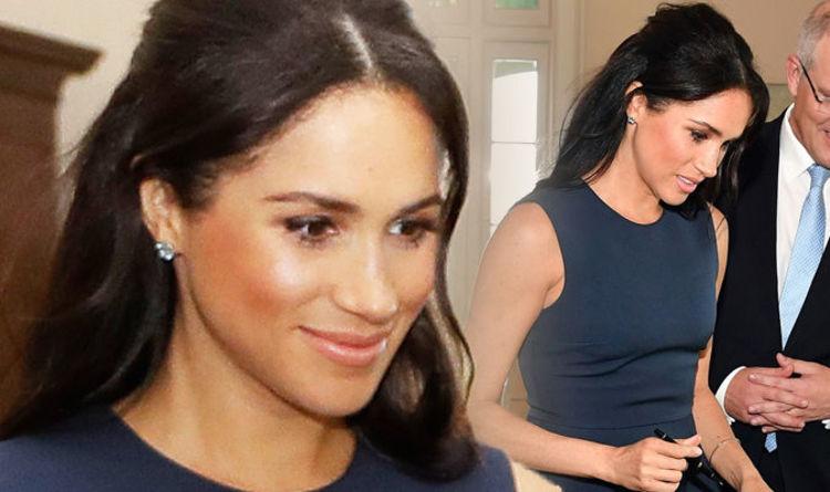 Meghan Markle News Prince Harrys Wife Wears 2000 Jewellery In Australia Express Co Uk