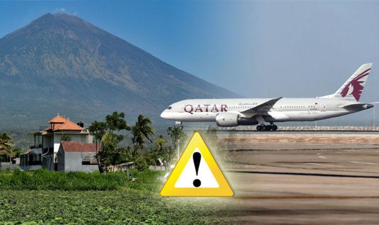 Bali volcano: Qatar Airways latest news and advice on bali