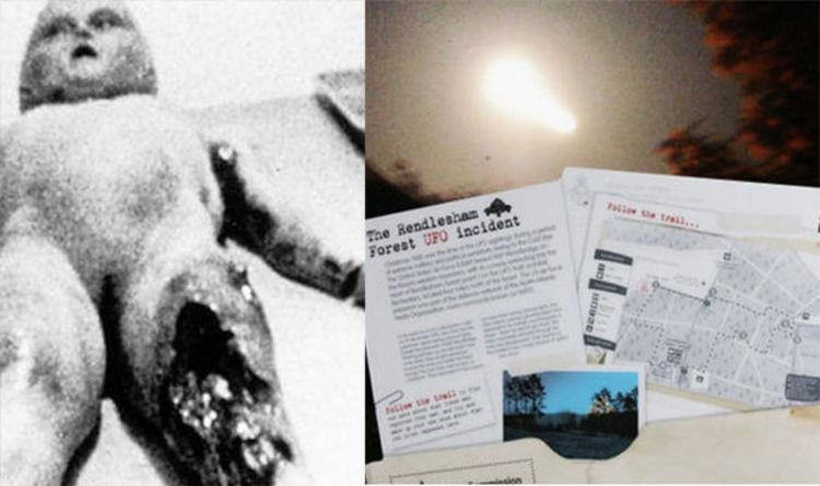 Roswell And Rendlesham Alien Mysteries Linked Hieroglyphics Seen