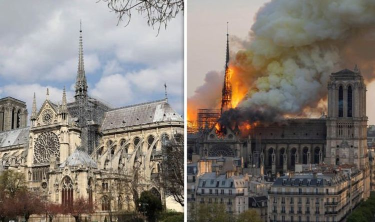 Notre Dame Fire In Pictures Heartbreaking Before And After Photos