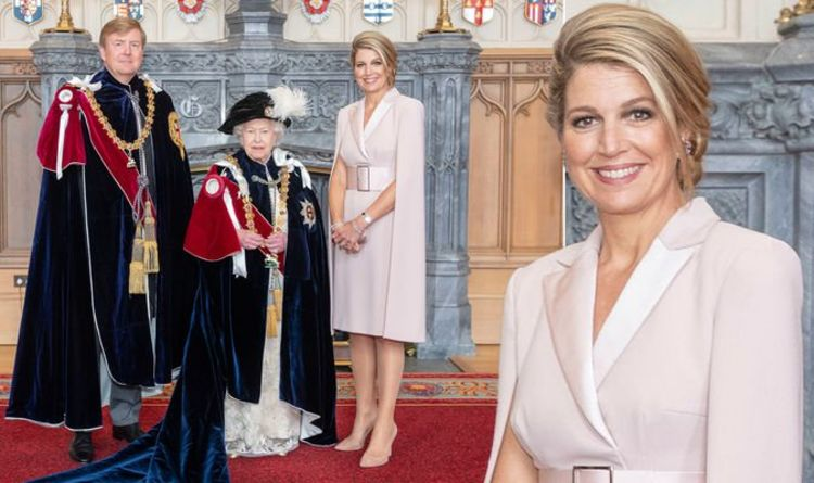 Image result for Queen Maxima order of the garter