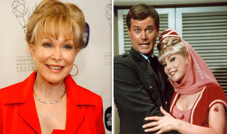 Consider, that Barbara eden as jeannie