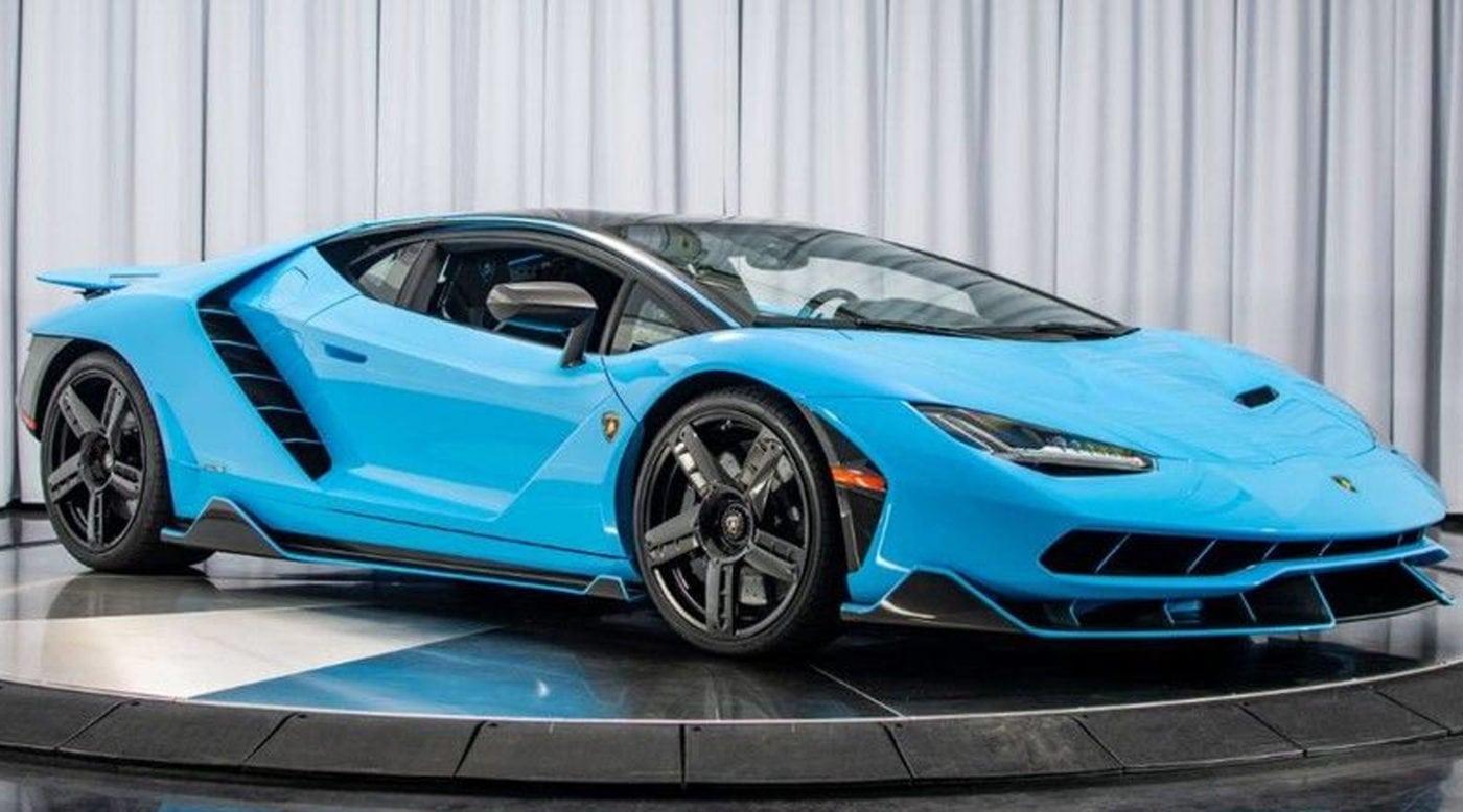 Blu Cepheus Lamborghini Centenario For Sale