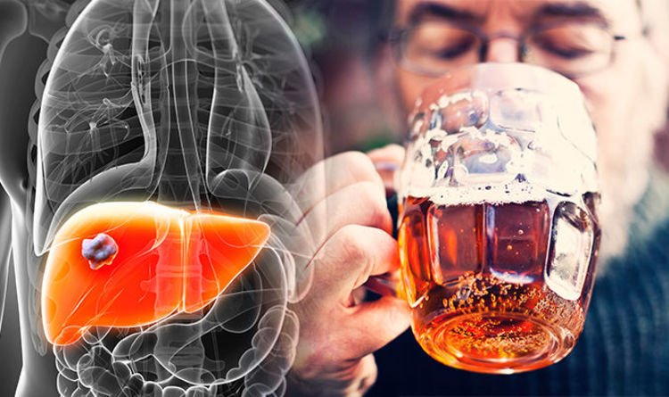 Liver damage symptoms and signs: Drinking this much alcohol can lead