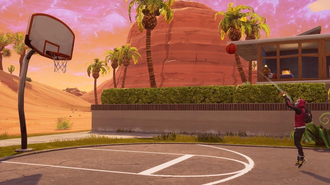Season 5 Basketball Court