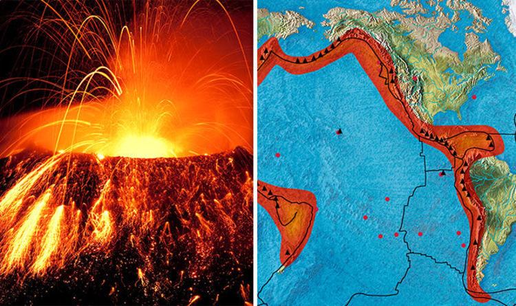 California volcano eruption: Pacific Ring of Fire sites