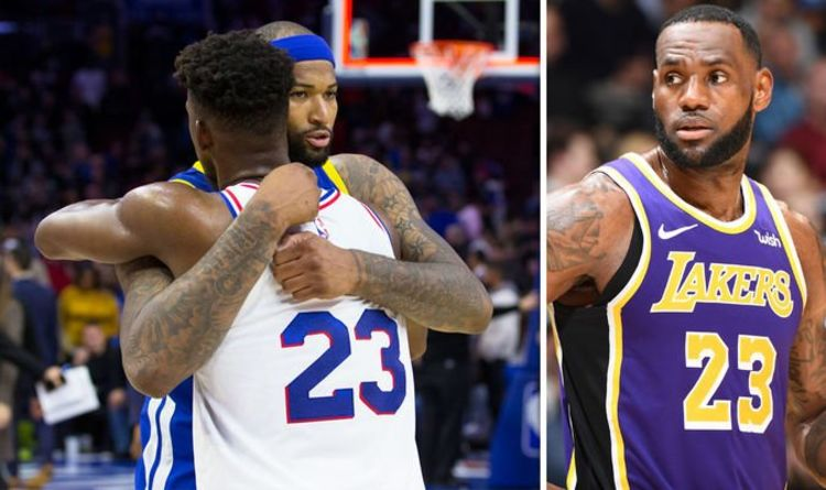 8aad2d2c35d Lakers backed to sign Jimmy Butler AND DeMarcus Cousins to join LeBron  James this summer