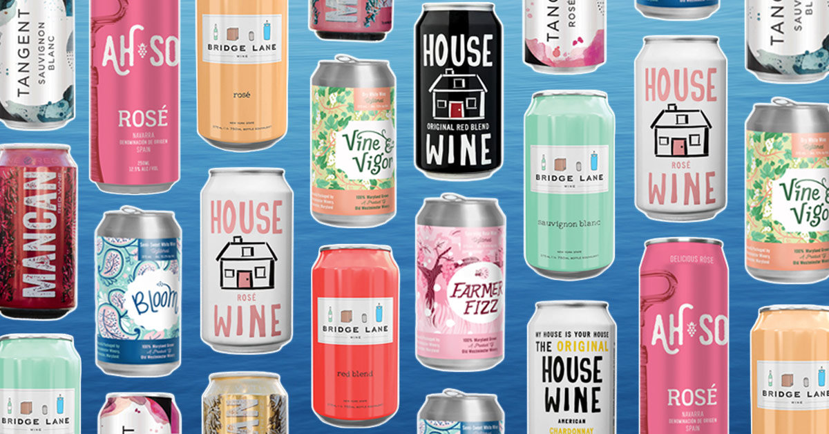 a22757b9ef Beach, Boat or Pool: These Are the Canned Wines to Bring Along This Summer