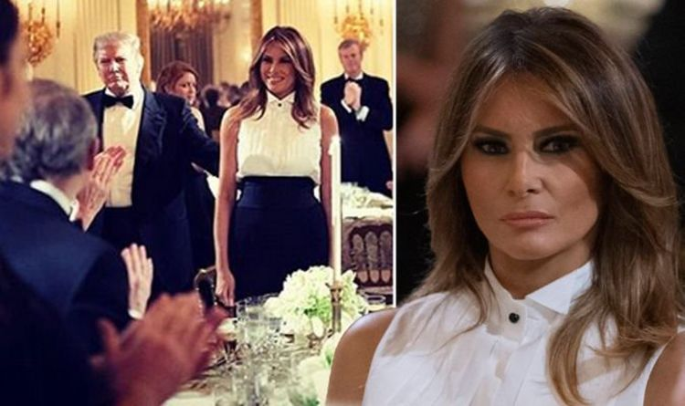 Melania Trump Radiant As Donald Declares His Admiration For Her Thank You Very Much