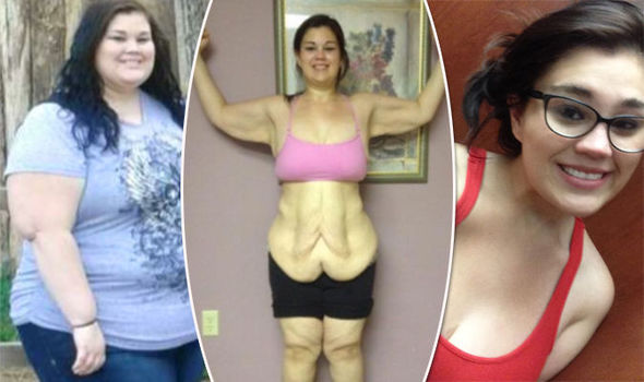 Weight loss pictures of young girls very
