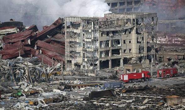 Tianjin explosion: Shocking photos show scale of devastation in