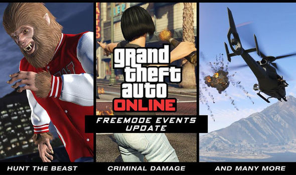 The Gta  Update Is Only For Ps Xbox One And Pc Users