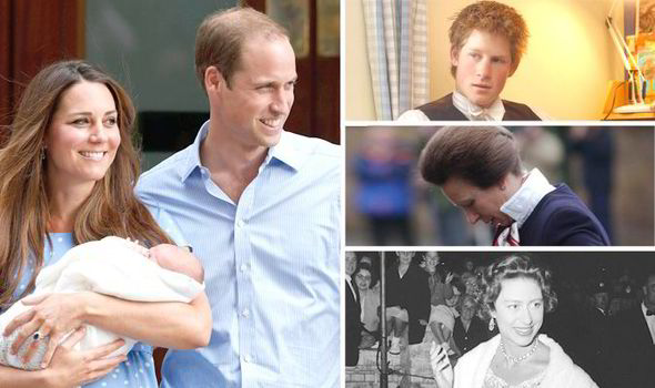 The Royal Family S Heirs And