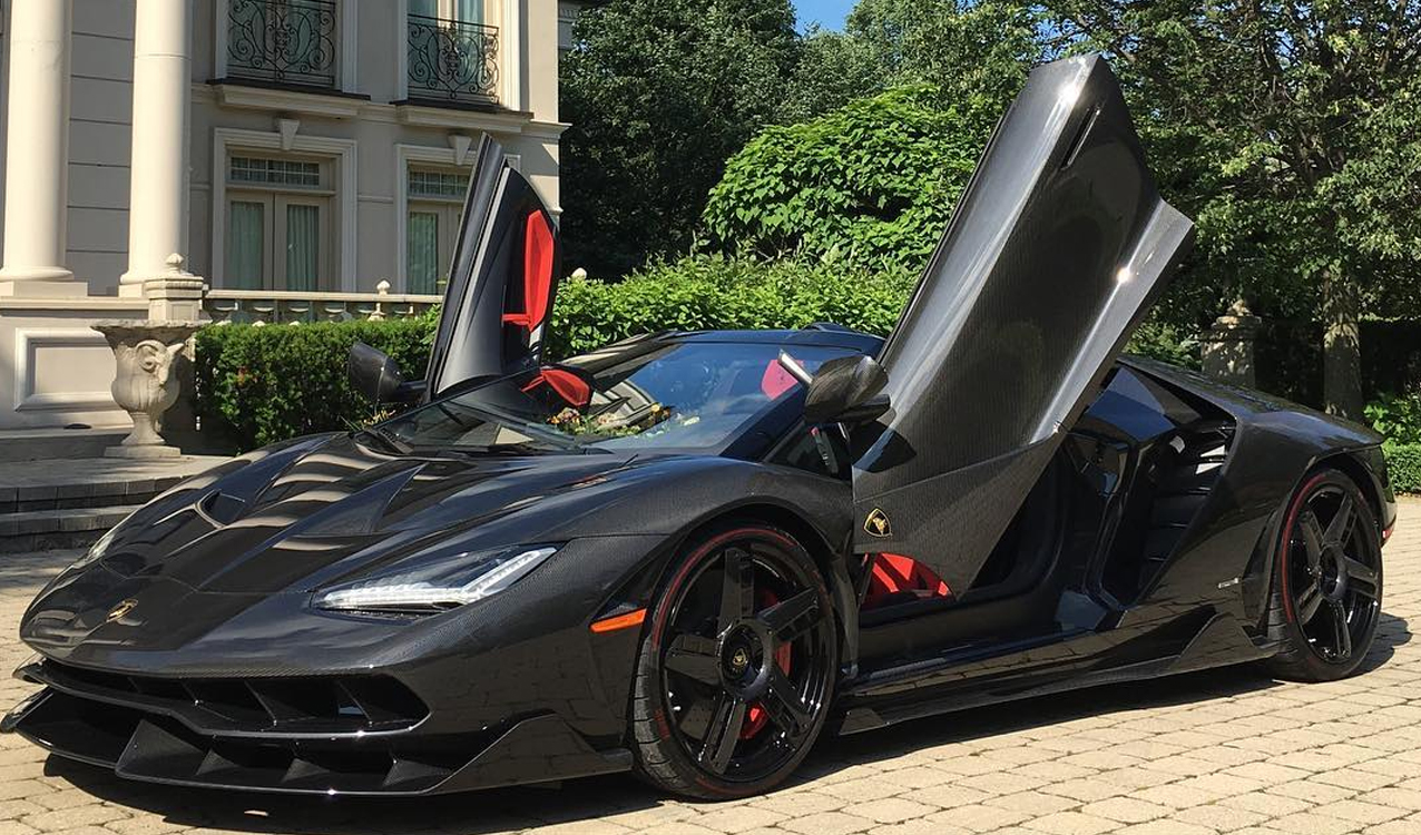 First Lamborghini Centenario Roadster In Canada Delivered Quietly
