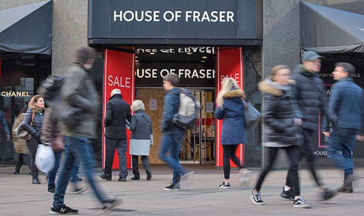 House of Fraser news  31 stores to close - which ones are closing  FULL  LIST of closures bc194ba8f