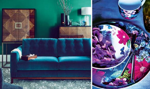 Style Design Accessories Interior Blue Victoria Gray