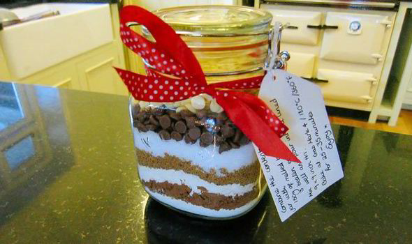 homemade this brownie mix jar is simple to make and is a great gift for any